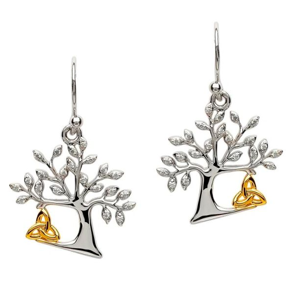 Earrings - Tree of Life - Trinity - Shanore SE2094CZ
