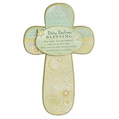 Cross - Baby Blessing - Abbey Press 55723T