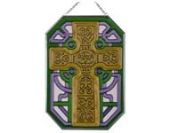 Suncatcher - Celtic Cross - Octagon Shaped