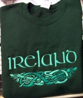Sweatshirt - Ireland Dragon - Sexton #6010