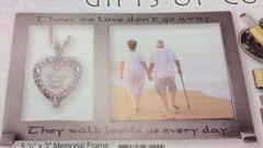 Frame - Memorial - Bereavement - Ashes Heart Locket - CA#PF405