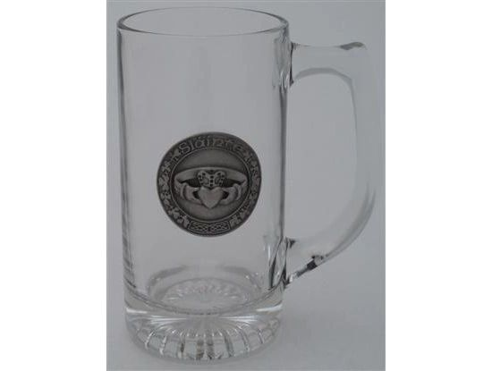 Mug - Beer Mug - Claddagh