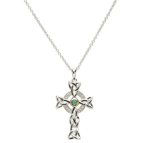 Pendant - Necklace - Celtic Cross - Sterling - Shanore #SF10