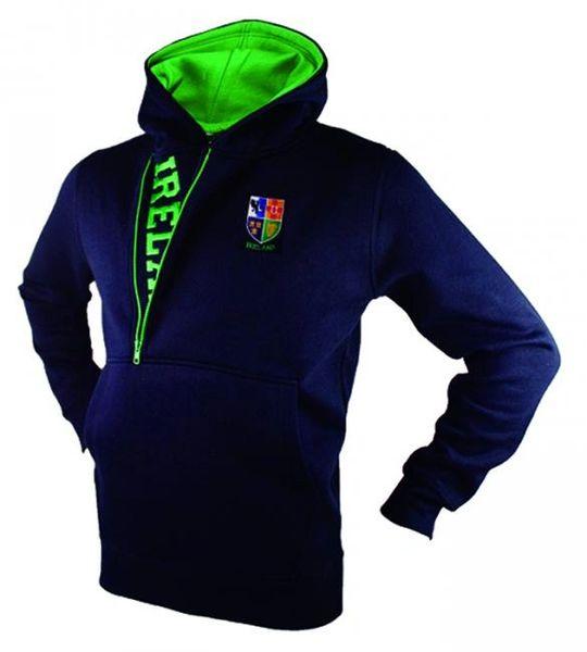 Sweatshirt Hoodie Half Zip Ireland Malham #HIHZ