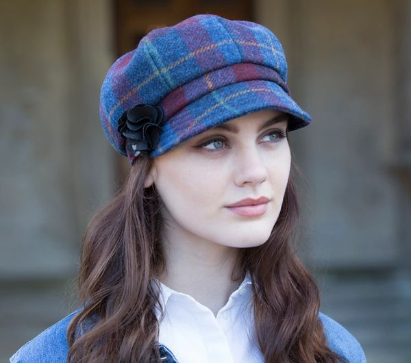 Hat Ladies Newsboy Cap Made in Ireland