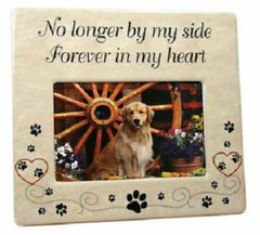 Pet Frame No Longer by My Side Forever in My Heart