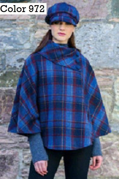 Poncho Mucros Weavers Made in Ireland