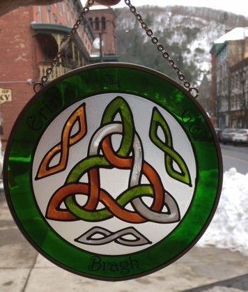 Suncatcher Trinity Knots Made in USA