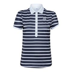 Daily Sports Ladies Kellie Cap Sleeve Polo Shirt with Embriodery - 843/150