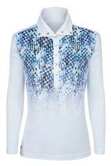 Daily Sports Ladies Dilara Long Sleeve Polo Shirt - 863/115