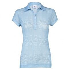Daily Sports Ladies Aggie Mesh Cap Sleeve Polo Shirt - 943/160