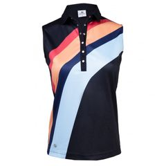 Daily Sports Ladies Ricke Sleeveless Polo Shirt - 943/132