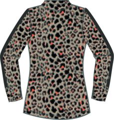 Daily Sports Ladies Printed Long Sleeve Mock Neck Shirt - 963/104