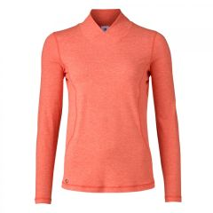 Daily Sports Ladies Agnes Long Sleeve Mock Neck Shirt - 963/120