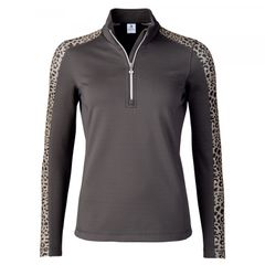 Daily Sports Ladies Leona Long Sleeved Half Zip Shirt -963-106