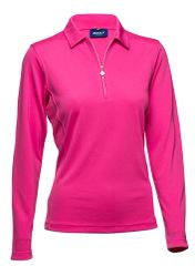 Daily Sports Ladies Macy Long Sleeved Polo Shirt -663-102