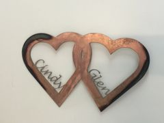 Custom- Double Hearts