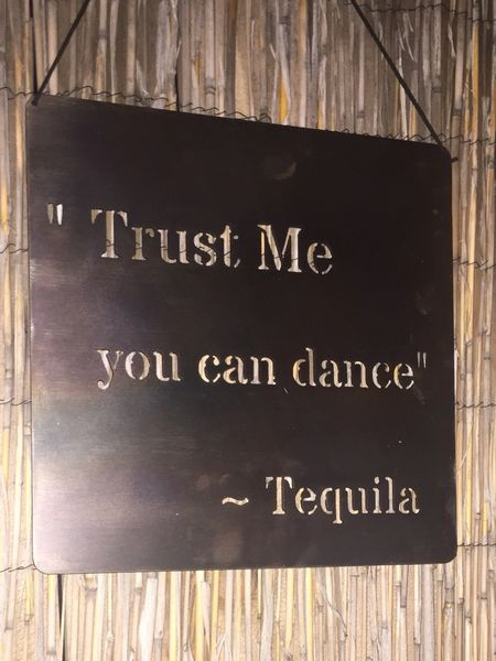 "Quote Series- ""Trust me you can dance""~ Tequila"