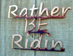 Rather be Ridin