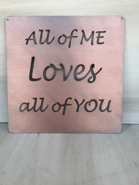 "Quote Series- ""All of me loves all of you"""