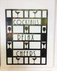 Cocktails Bar sign