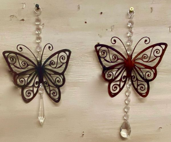 Butterfly with Crystals