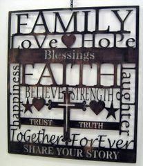 Family Sign- Faith
