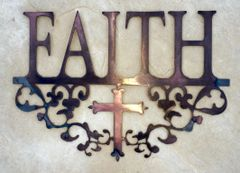 Faith - Filigree and cross