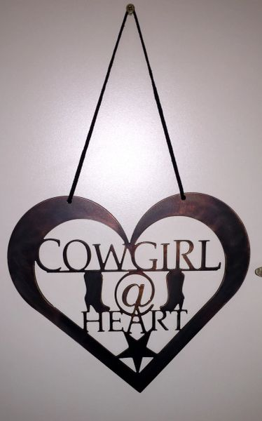 Cowgirl at Heart