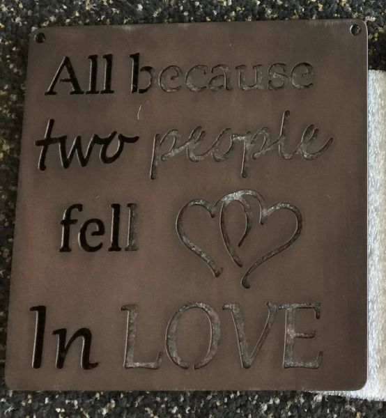 "Quote Series- ""All because two people fell in love"""