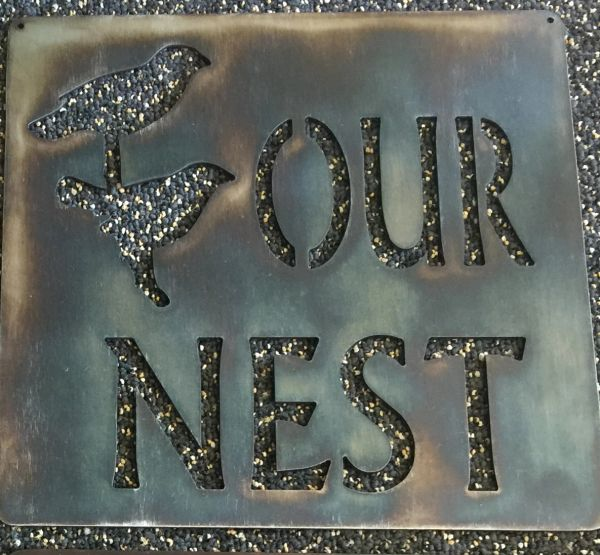 "Quote Series- ""Our Nest"""
