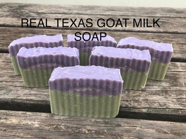 LAVENDER PEPPERMINT GOAT MILK SOAP
