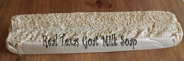 Logs of Goat Milk Soap