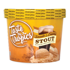 NEW & LIMITED EDITION Taste The Tropics® Smooth & Creamy STOUT, 56oz