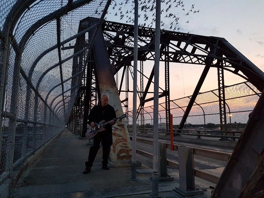 Music...  let it be your bridge to great things in life. Randy Rhythm - Arlington Bridge sunrise