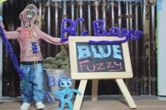 Blue Fuzzy *GROWING