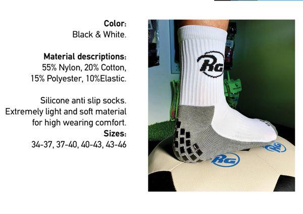 Sililcone anti-slip socks