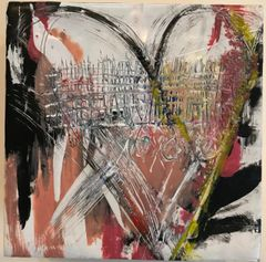 Abstract Love #3. SOLD
