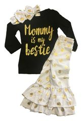 MOMMY IS MY BESTIE BOUTIQUE OUTFIT