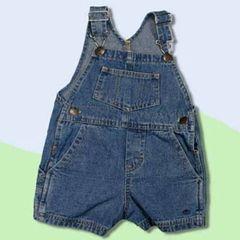 Baby and Toddler Denim Bib Overall Shorts