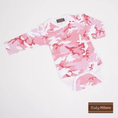 Pink Camo Bodysuit