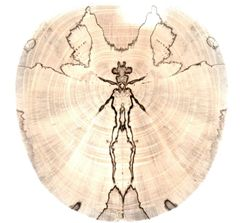 Spalted Spirits Ornament (1220)