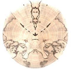 Spalted Spirits Ornament (1215)
