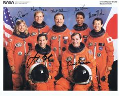 STS-47 Fully Autographed Lithograph (Contact for Price)