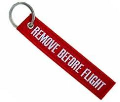 SPECIAL OFFER: Remove Before Flight Keychain **FREE SHIPPING** w/ Book Purchase