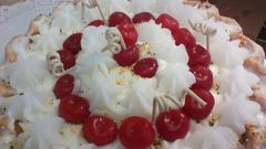 Candle Pie 9 inch Sweet Cherry Dollops
