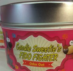 Candle Sweetie's FIDO FIGHTER Pet Odor Eliminator