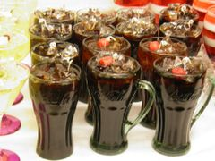 Candle Drink. Cola Candle