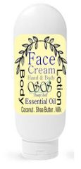 Squeeze Bottle - Basil All in One Face Cream | Hand Body Lotion
