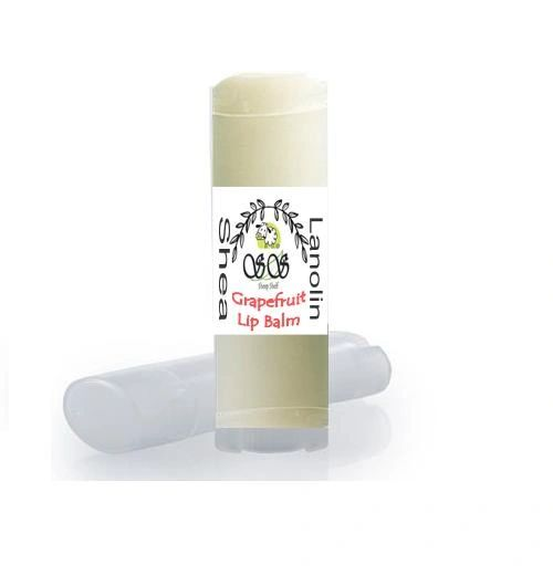 A Orange Grapefruit Natural Lip Balm